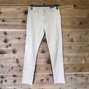 Vineyard Vines Khaki Breaker Slim Pants Sz 30x34